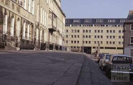 Ballance Street from Portland Place, Bath 1973
