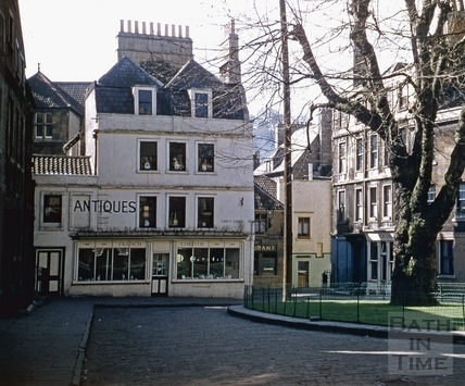 Abbey Green, Bath 1955