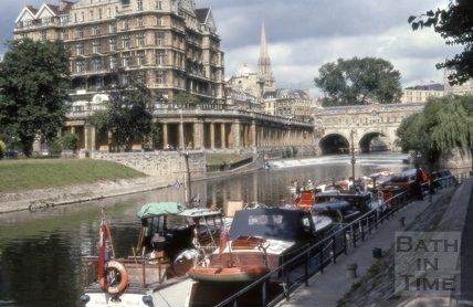 River Avon, Bath 1979