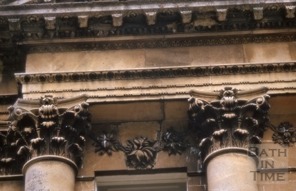 Detail of capitals, Titan Barrow, Bathford 1964