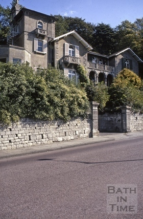 Villa Bianca and Grove Villa (YMCA), Bathwick Hill, Bath 1972
