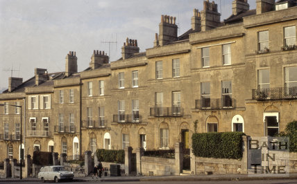 7 to 14, Dunsford Place, Bathwick Hill, Bath 1972