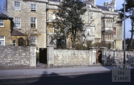 Bloomfield Place, now 108 to 114, Bloomfield Road, Bath 1967