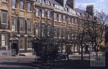 Catharine Place, Bath 1964