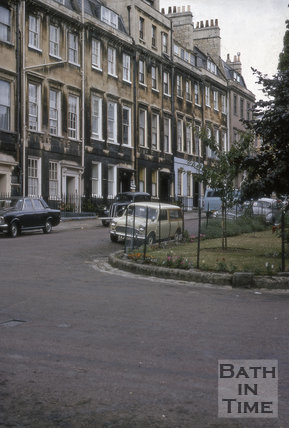 Catharine Place, Bath 1969