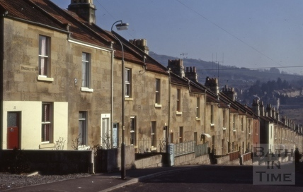 Brooklyn Road, Larkhall, Bath 1973
