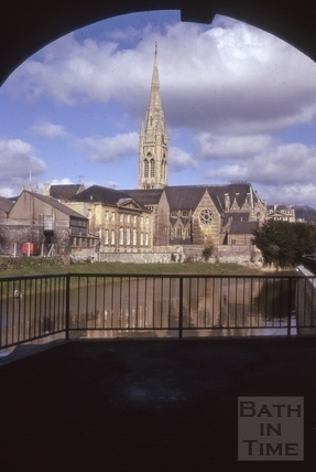 St. John's Church, South Parade, Bath 1975