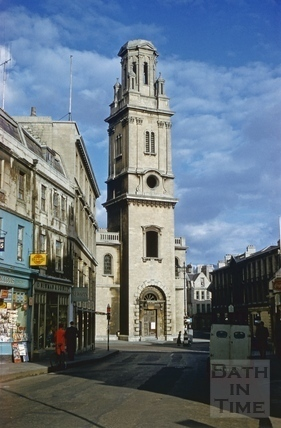 St. James's Church, Bath 1956