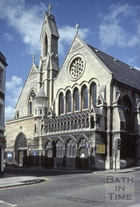 Holy Trinity (St. Paul's) Church, Monmouth Place, Bath 1981
