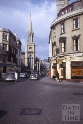 St. Michael's Church, Bath 1971