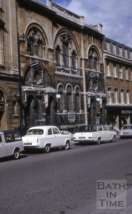 Westgate Chapel, Westgate Buildings, Bath 1966