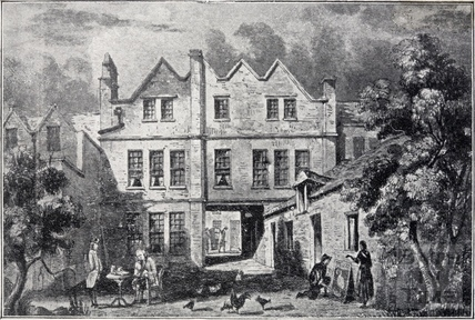 The The Pelican Inn, later the Three Cups, 10, Northgate Street, Bath