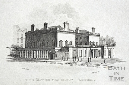 The Upper Assembly Rooms, Bath 1818
