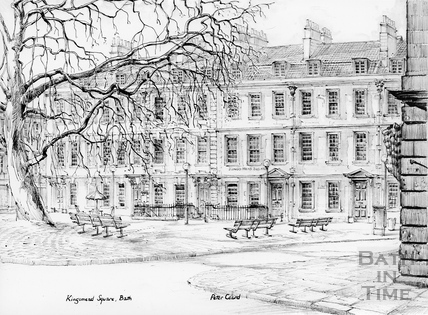 Kingsmead Square, Bath c.1977