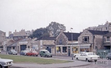 Crescent Lane, Bath 1972