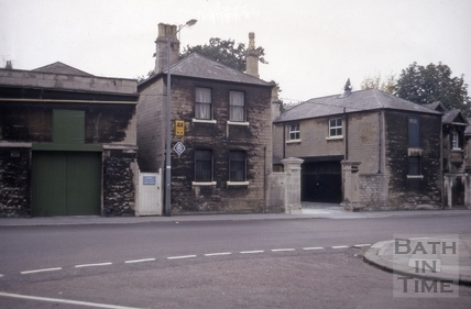 15 to 17, Crescent Lane from St. James's Street, Bath 1972
