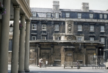 The Cross Bath, Bath 1974