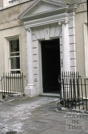 Doorway, 3, Duke Street, Bath 1973