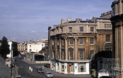 Argyle Hotel, Railway Place and Dorchester Street 1970