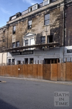Brown's Garage, 24 to 26, Grove Street, Bath 1977