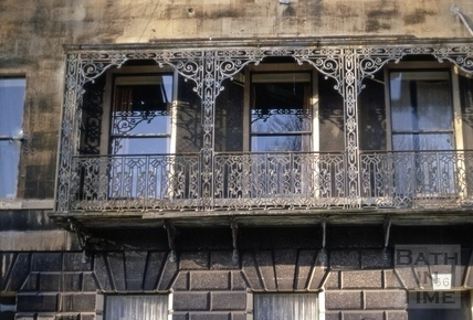 Balcony, 30, Green Park, Bath 1969