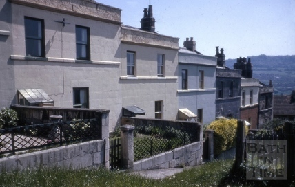 1 to 6, Highbury Terrace, Snow Hill, Bath 1964
