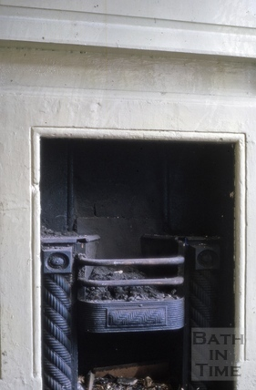 Fireplace, 23, High Street, Bath 1964