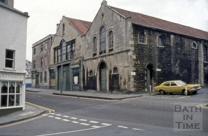 Christ Church Hall and 7 & 8, Montpelier, Julian Road, Bath 1973