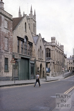 7 & 8, Montpelier, Christ Church Hall and Christ Church, Julian Road, Bath 1969