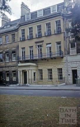 13, Grosvenor Place, Bath 1960s?