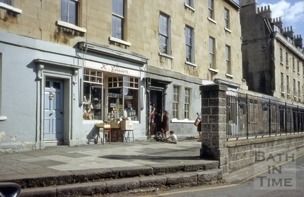 1 to 8, Kingsmead Terrace, Bath 1965
