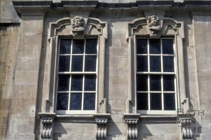 Windows, Rosewell House, 12 to 14, Kingsmead Square, Bath 1971