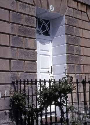 Doorway, 8, Lansdown Crescent, Bath 1979