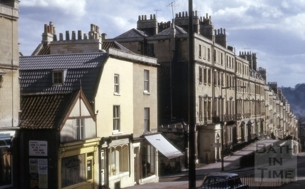 Belvedere and Belmont, Lansdown Road, Bath 1964