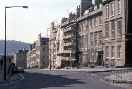Oxford Row, Lansdown Road, Bath 1976