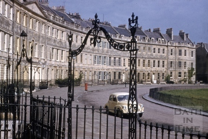 Lansdown Crescent , Bath 1970