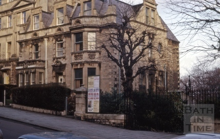 Valley View House and 36, Belvedere, Lansdown Road, Bath 1964