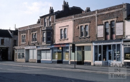 72 to 77, Lower Bristol Road (Westmoreland Terrace), Bath 1975