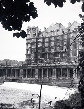 The Empire Hotel, Bath 1969
