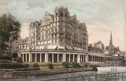The Empire Hotel, Bath 1902
