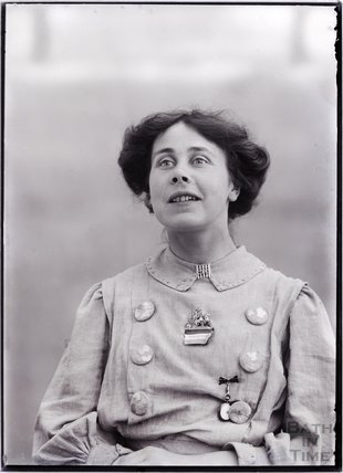Suffragette Mary Phillips 1909