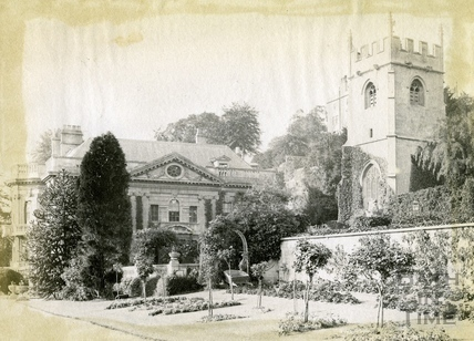 Widcombe Church and Manor, Widcombe, Bath 1892