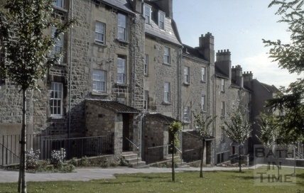 Rear of Morford Street, Bath 1980
