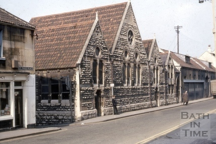 Kingsmead Infants School, Monmouth Place, Bath 1969
