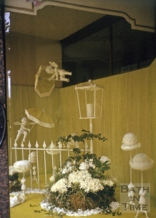 Jolly's window display, Milsom Street, Bath 1964