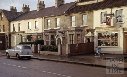 Roseberry Place, Lower Bristol Road, West Twerton, Bath 1965