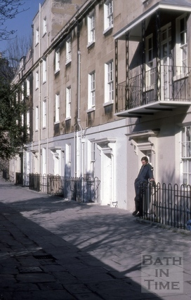 6 to 11, Miles's Buildings, Bath 1976