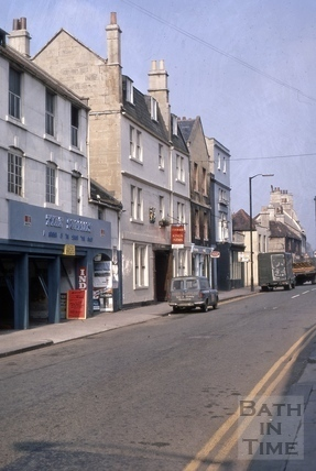 Monmouth Place, Bath 1969