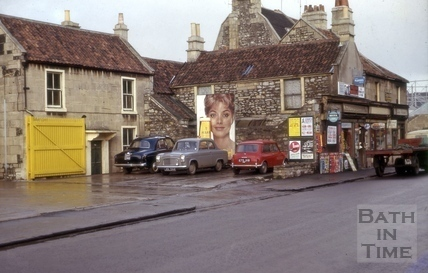 Charlton Buildings, Lower Bristol Road, West Twerton, Bath 1964