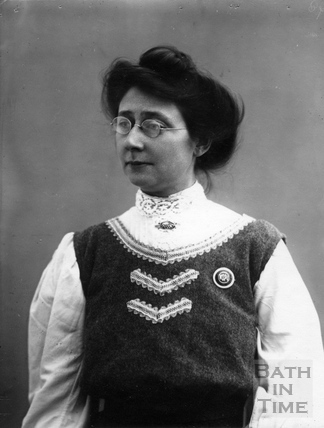 Suffragette Mary Blathwayt 1909